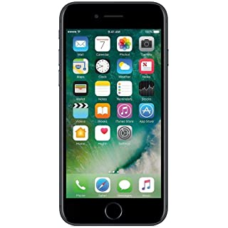 Apple iPhone 7 256 GB T-Mobile, Jet Black (Renewed)