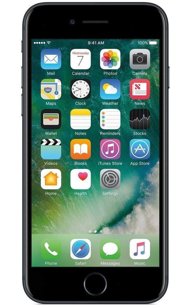 Apple iPhone 7 256 GB T-Mobile, Jet Black (Renewed)
