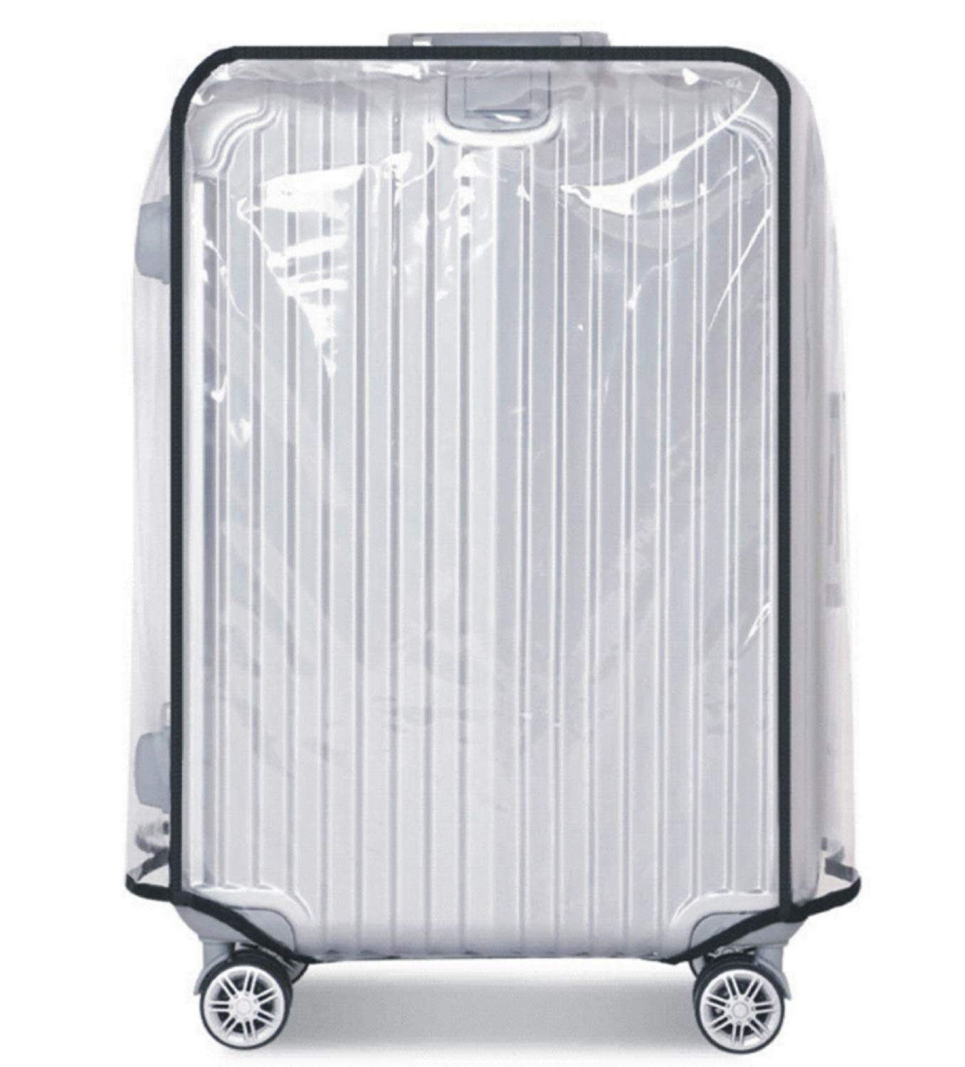 Luggage Cover, Clear PVC Luggage Suitcase Cover Travel Luggage Protector (22'')