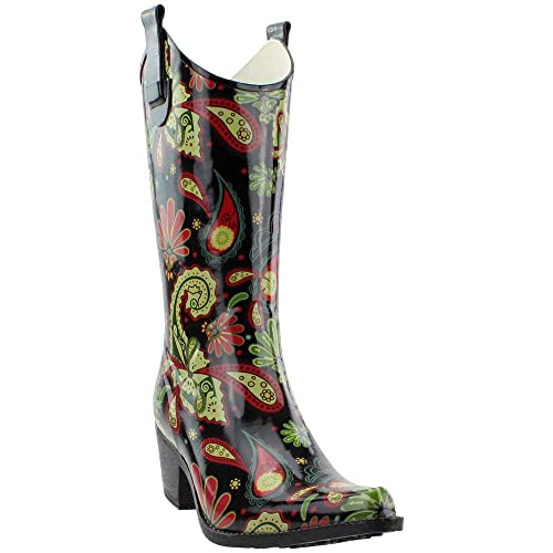 643d9bd6125 Corkys New Women's Rodeo Rain Boots