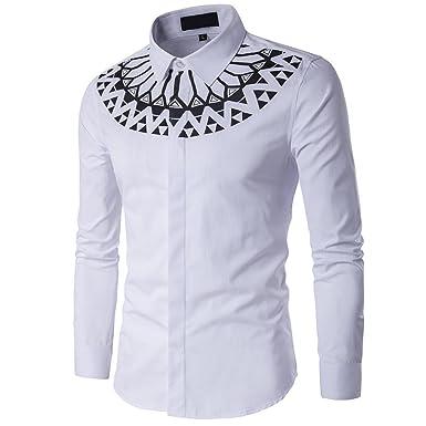 Hemd Herren,LUCKDE Business Hemden Slim Fit Freizeithemden Langarm Hemd  Streetwear Tank Top T Shirt Rundhals Fitness Muskelshirt Männer  Amazon.de   ... 61fa2f5bab