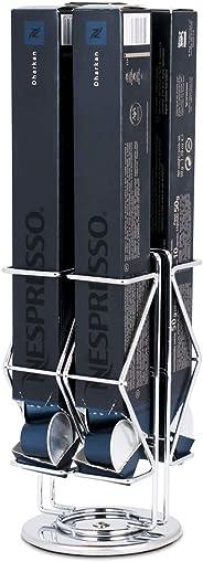 Porta Cápsulas - Compatível com Cápsulas Nespresso® -Silver - 4 Caixas