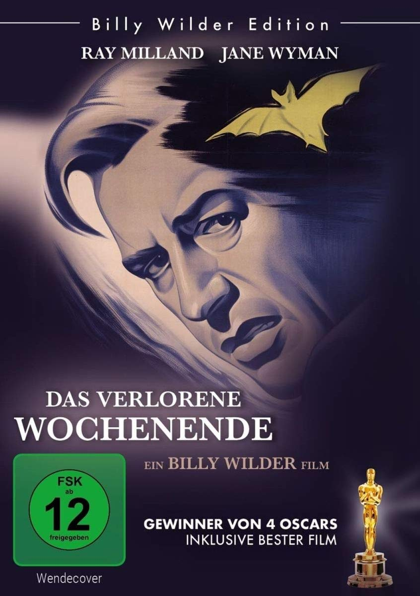 Cover: Das verlorene Wochenende 1 DVD (circa 96 min, s/w)