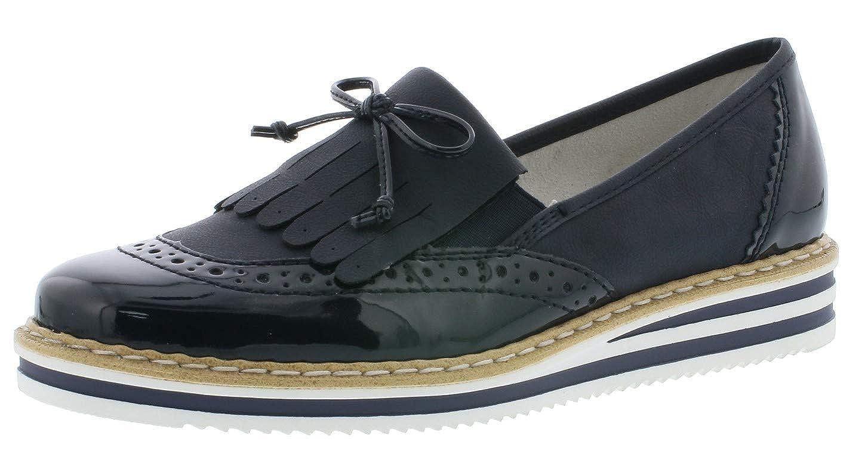 Rieker N0273 Femme Mocassin,Chaussures,Chaussures /à Lacets,Chaussures de Rue,Baskets,Sportif,l/éger,Chaussures soupl/ées,/él/égant,d/écontract/é