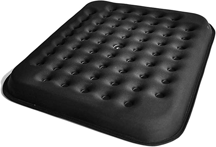 LoveHome Cool Gel Seat Cushion/Coccyx Seat Cushion for Lower Back Pain Relief (Design a with Cooling Vents)