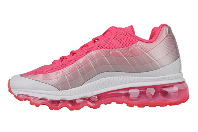 Nike Air Max 95 360 (GS) Girls Running Shoes 512076 002 Pure