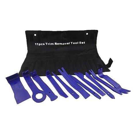 WINOMO 11 piezas Juego de herramientas para retirar cubiertas o embellecedores Trim Panel de la puerta