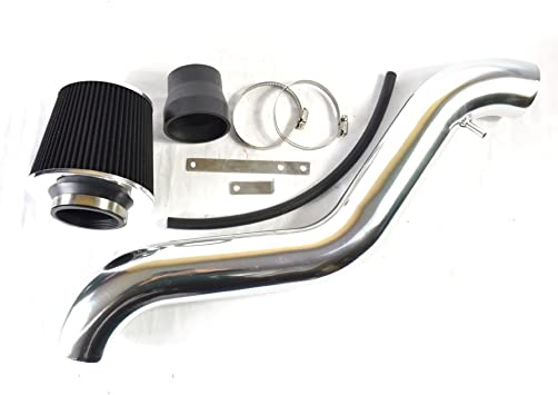 "2.75/"" Red Cold Air Intake Induction Kit Filter For 1997-2001 Honda Prelude L4"