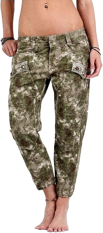 Guess Pantalon pour Fille Vert Militaire