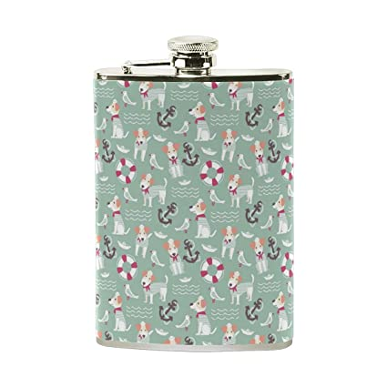 e885cbc801107 ... Hip Flask 8 oz for Liquor in a Gift Packaging