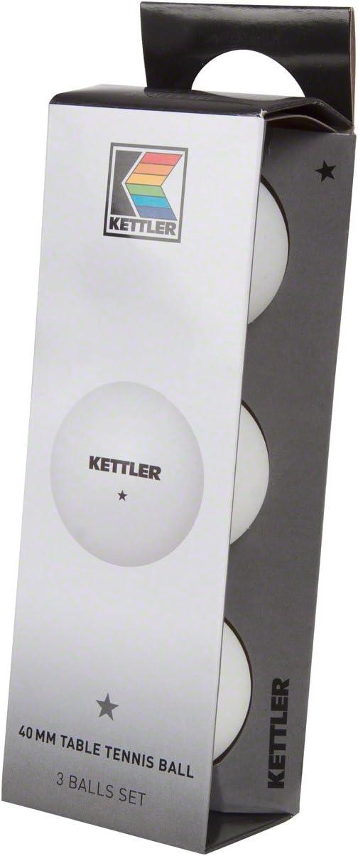 Kettler basic Accesorios Set 3 Pelotas Especiales DURACION Outdoor PLASTICO Blandas, Adultos Unisex, Multicolor, Talla Única