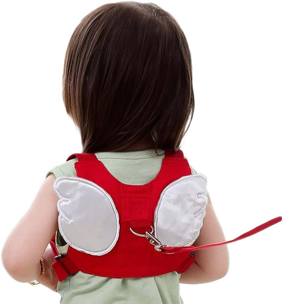 LAAT Zaino per Bambini Imbracatura di Sicurezza Mignon Bambino Marche con Imbracatura con Loins Borsa a Spalla Anti-Lost con Rimovibile Imbottita Cinghia Bambino Toddler Camminare