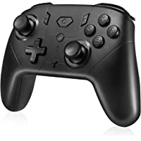 Powerextra Switch Controllers, Wireless Upgraded Dual Vibration Switch Pro Controller Gampad Joypad for Nintendo Switch…
