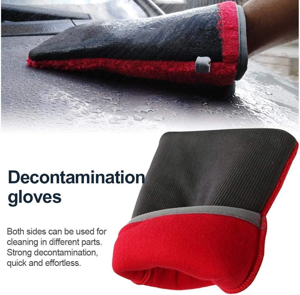 Auto Care Feiner Ton-Lehm-Handschuh F/ür Auto-Detaillierung Clay-Bar Alternative Roman-Detaillierungswerkzeug-Kit Katurn Claybar Mitt