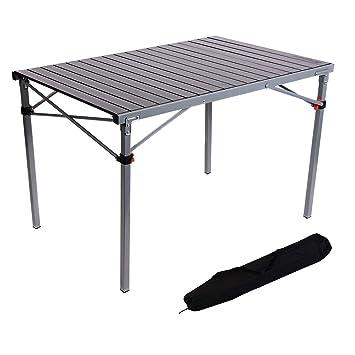 PliableConçu 6 PersonnesIdéal Nique Ou Table 4 De À Avec Léger Camping Trottoir Pour Kingcamp Aluminium Et Pique D'acierPortable ZuwOPkXiT