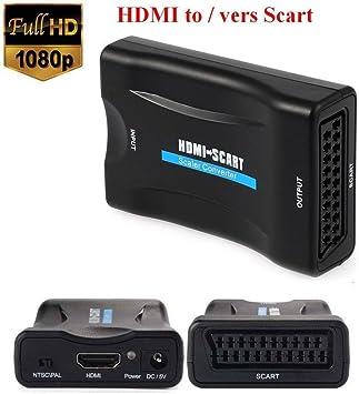 emebay - 1080p HDMI a SCART Euroconector convertidor de video ...
