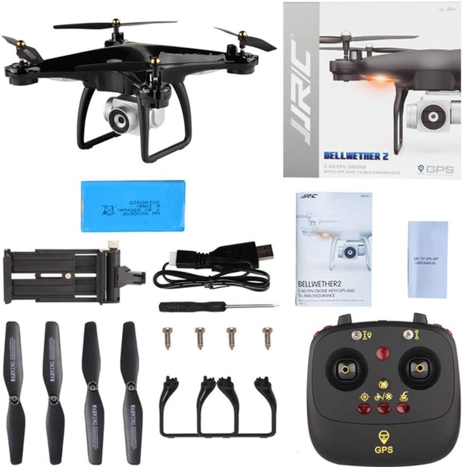 カメラ付きドローン1080P HD Wifi FPVクアドコプターヘリコプターオートフォロープロドローン、高度ホールド付き初心者のためのベストドローン、キッズボーイズガールズキッズのための最高の贈り物