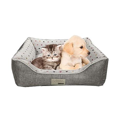 Casa de Mascotas LS- Kennel Cama para Perros pequeños Golden Retriever Large Kennel Four Seasons