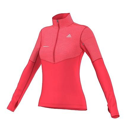 Amazon.com  adidas Performance Women s Lightweight Half-Zip Pullover ... c38b93226