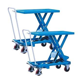 DAZONE Mesas elevadoras de tijera móvil – Mueve y eleva cargas a ...