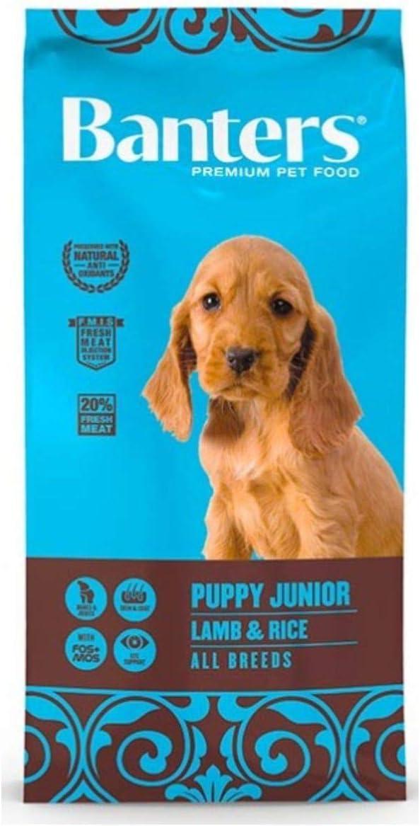 Banters Puppy Junior Cordero y Arroz 3 Kg