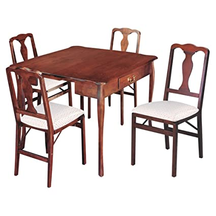 Stakmore Traditional Expanding Dining Table   Cherry