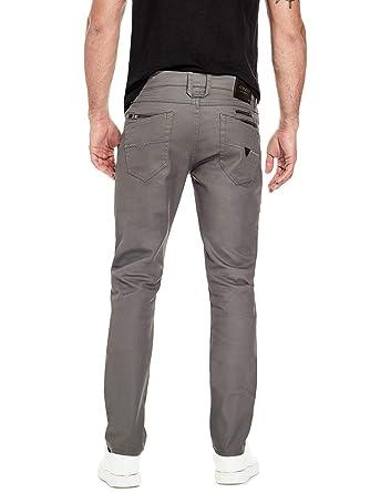 GUESS Factory Mens Harlem Slim-Fit Jeans