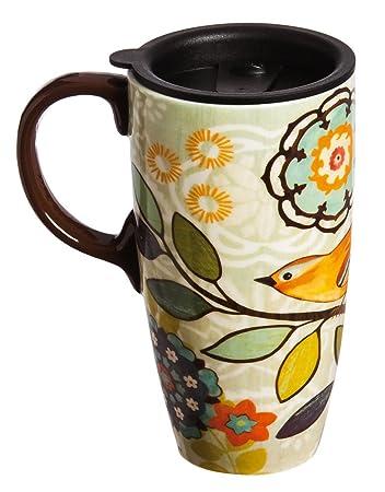 Ceramic Travel Coffee Mugs