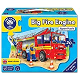Orchard 20-Piece Floor Puzzle, Fire Engine