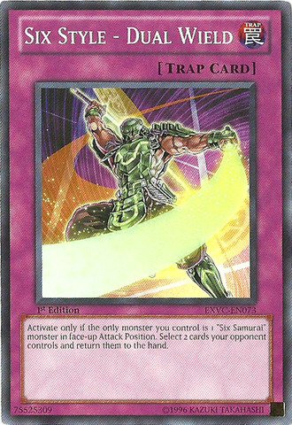 Yu-Gi-Oh! - Six Style - Dual Wield (EXVC-EN073) - Extreme Victory - 1st Edition - ()