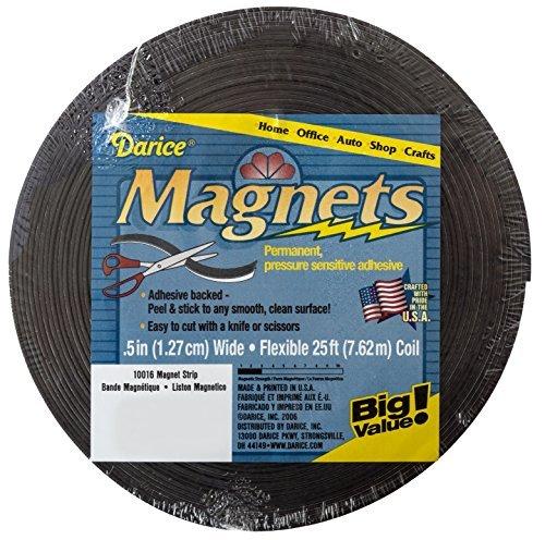 Darice Foot Adhesive Magnet Strip