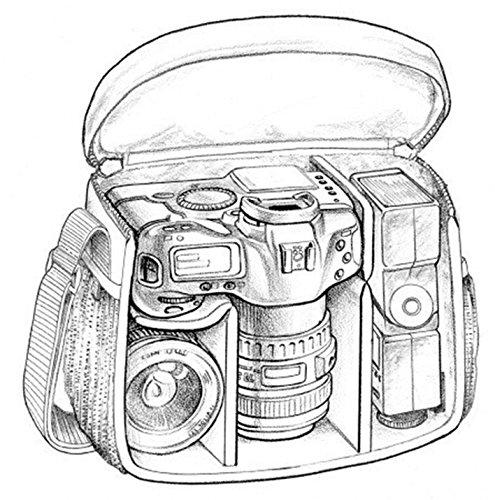 Canon EOS M6 Camera (Silver) EF-M 15-45mm f/3.5-6.3 IS STM Lens Kit, Sandisk Ultra SDXC 64GB Memory Card, Polaroid Filter Kit, DSLR Camera Bag, Ritz Gear Tripod and Accessory Bundle
