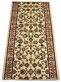 Dean Elegant Keshan Antique Carpet Rug Runner - Purchase by the Linear Foot