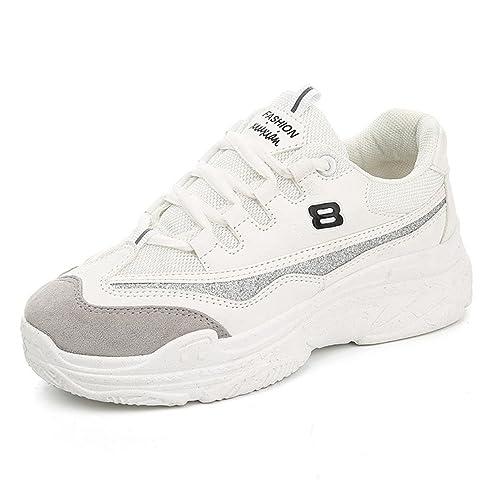 beautyjourney Scarpe da Ginnastica Basse donna Scarpe basse sneakers estive  eleganti donna scarpe da corsa donna Sportive ... 022178a3b68