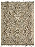 Stone & Beam Vero Medallion Wool Area Rug, 8′ x 10′, Neutral Multi Review