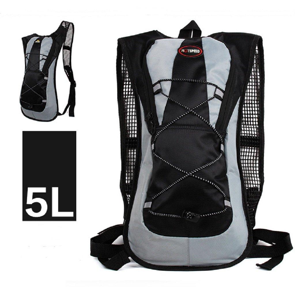 Hiking Backpack Waterproof Mountaineering Bag Lightweight Travel Backpacks for Men and Women Outdoor Backpack Camping Climbing Internal Frame Backpack for Backpacker, Black, Orange