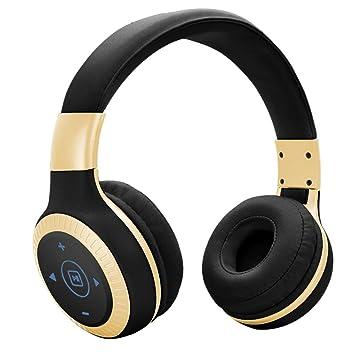 Niños/Adolescentes Bluetooth más de auriculares de botón, limitación del volumen, el modo