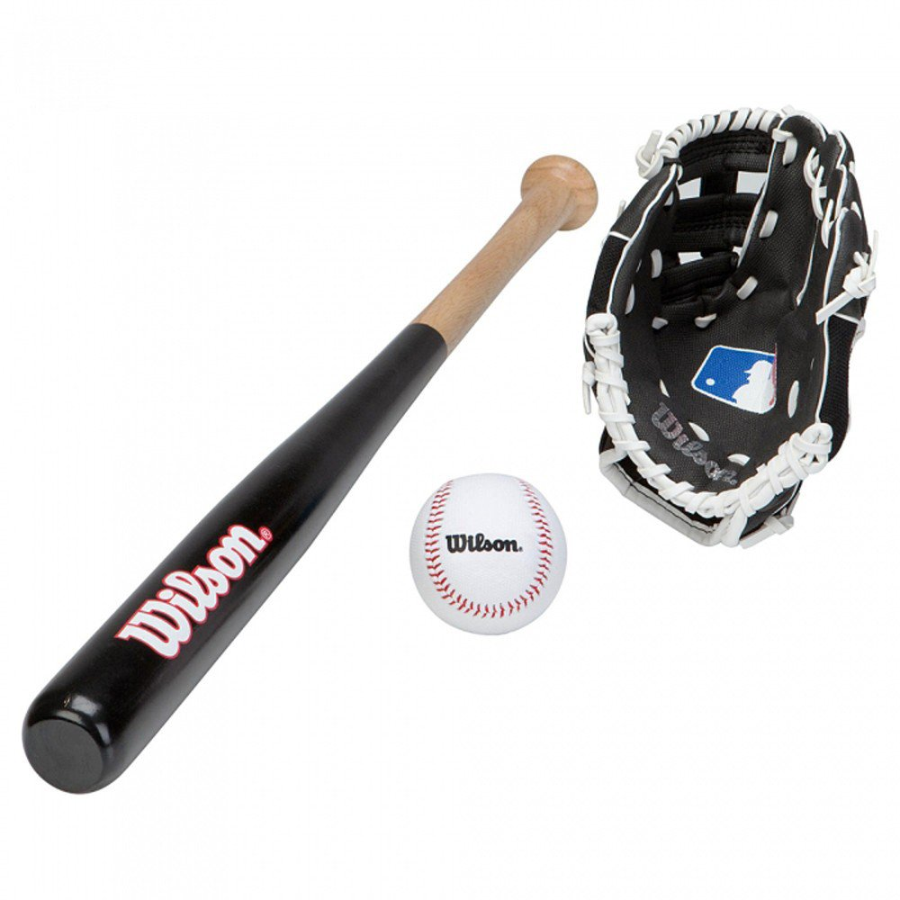 Wilson Little League Set Kit de baseball junior Multicolore 66 cm WIMQG|#Wilson Team Sport LITTLE LEAGUE BASEBALL KIT Set de baseball enfant balle de base ball