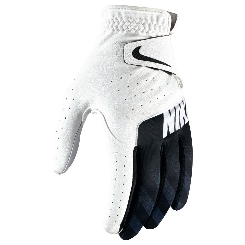 Nike Sport Golf Gloves 2-Pack 2017 Regular White/Black Fit to Left Hand Large