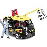 DC Comics Bus Playset for 8 Inch Retro Figures: Batlab With Exclusive Penguin Figure
