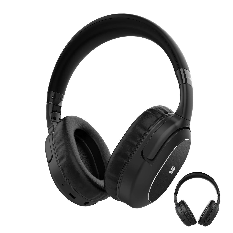 Auriculares Cancelacion De Ruido Activa Bluetooth Over-ear Con Mic Deep Bass Hi-fi Sound 30hrs Duracion Anc Inalambrico