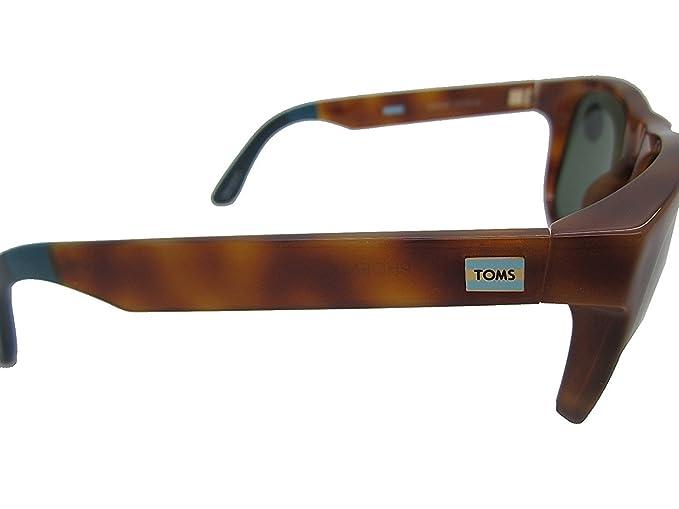 Amazon.com: Toms anteojos de sol Phoenix – S012 Miel tortuga ...