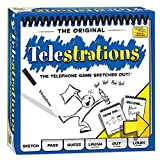USAOPOLY PG000264 Telestrations the Telephone Game Sketched Out!