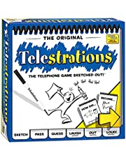 USAopoly PG000264 Telestrations Game 8 Player - The Original