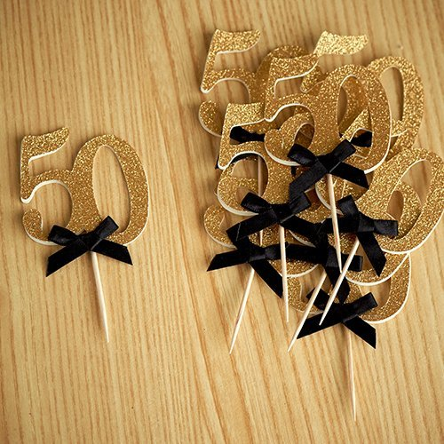 50th Birthday Party Ideas. Number