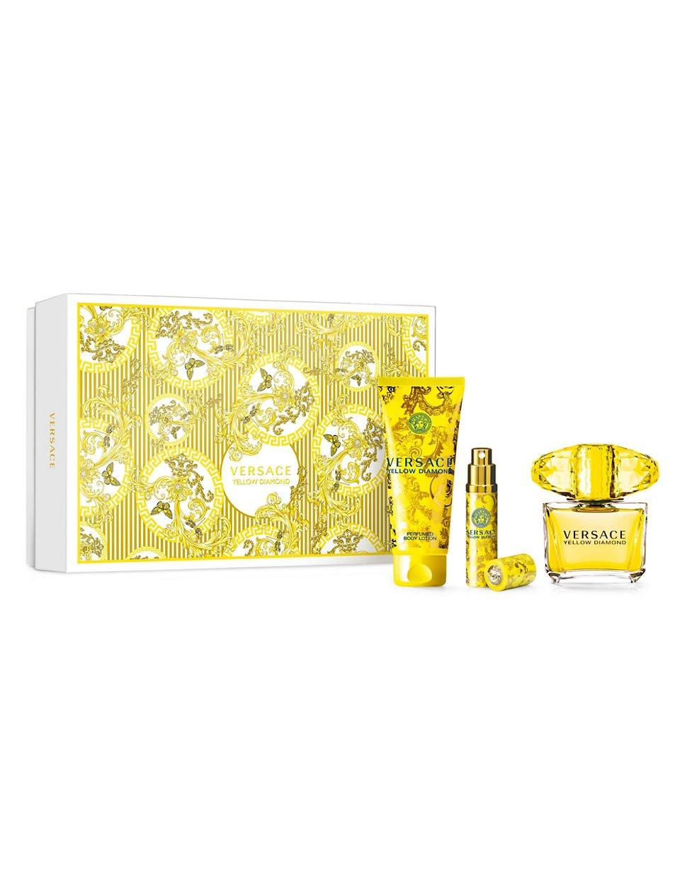 Versace Yellow Diamond 3 Piece Set For Women