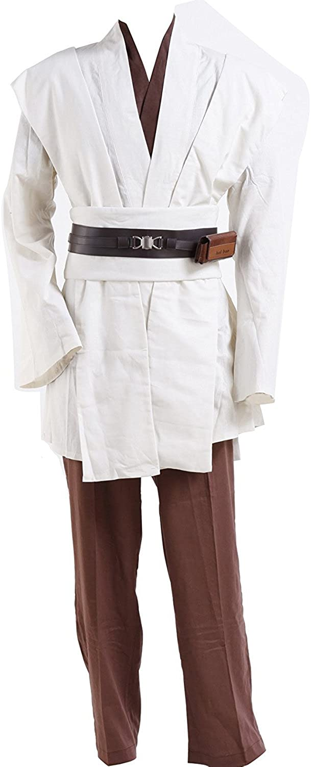 Star Wars Obi-wan Kenobi Jedi Tunic Outfit Uniform Halloween Cosplay Costume