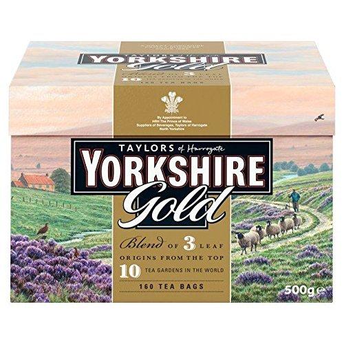 Taylors of Harrogate, Yorkshire Gold, 160-Count, Black Tea Bags