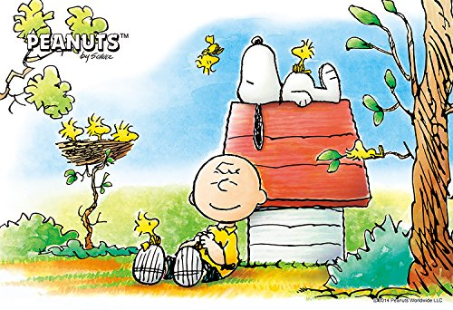 Snoopy Design 300 Pieces Jigsaw Puzzle (Finished Size: (Snoopy Puzzle)
