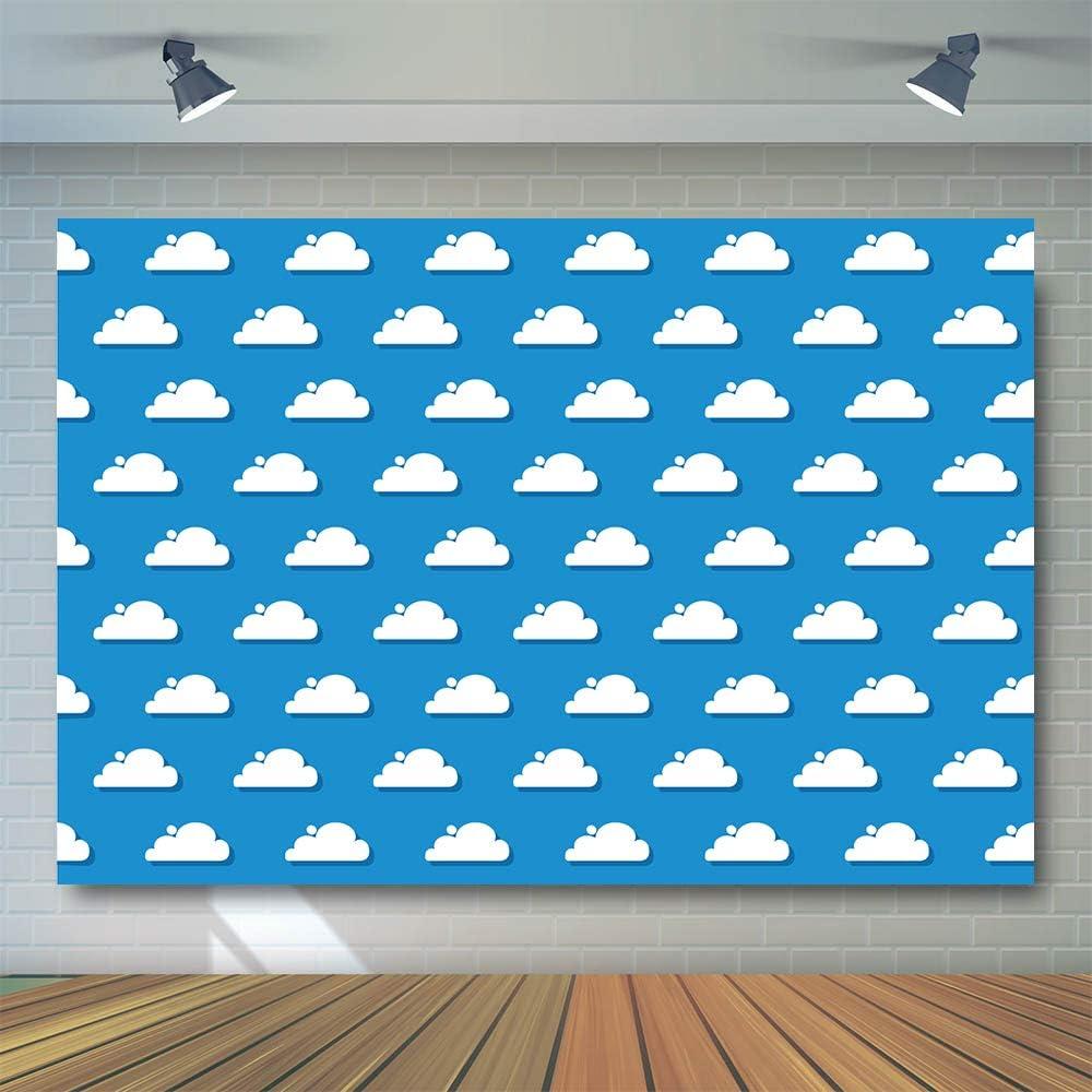 2 1 X 1 5 M Blauer Himmel Weiße Wolken Hintergrund Kamera